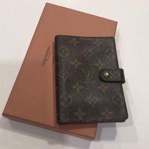Authentic Louis Vuitton Agenda PM Pre-loved